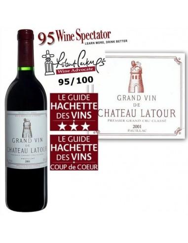 Grand Vin de Château Latour 2001...