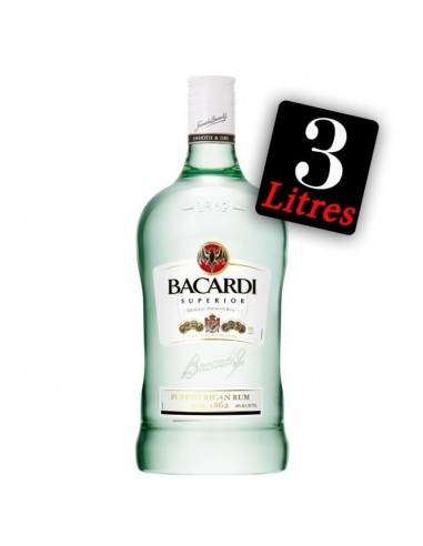 Bacardi Carta Blanca Rhum Blanc 300...